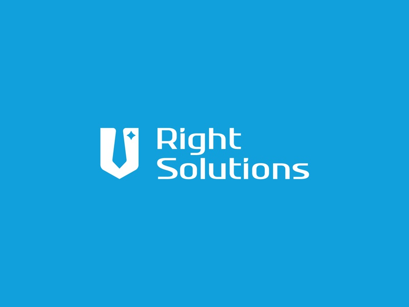 Right Solutions identity brand sign mark law law firm vetoshkin design branding logotype logo