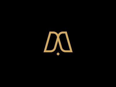 AM monogram am sign mark idenity brand monogram logotype vetoshkin branding logo design