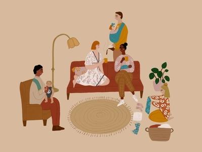 Your Village Illustration