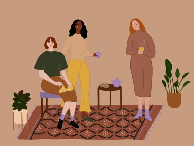 Illustration for ethical boutique shop illustration art fashion illustration friends design illustrator digitalillustration illustration