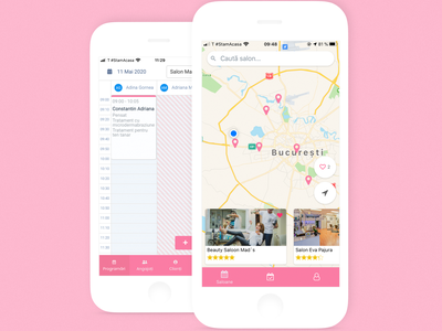 Salon Appointments booking app. app ui ux uiux uidesign mobile design mobile app mobile saas salons appointment booking appointments