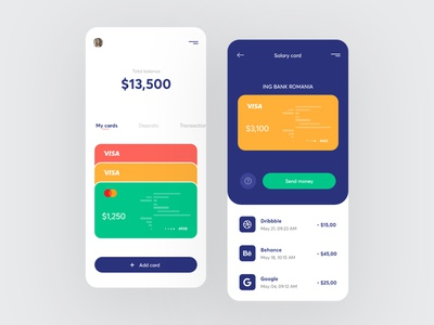 Finance app - mobile design finance finance app banking app bankingapp banking mobile design mobile app mobile