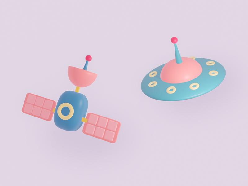 Ufo & Satellite