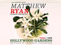 Matthew Ryan :: Hollywood Gardens