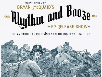 Bryan McQuaid Rhythm and Booze EP Release Show