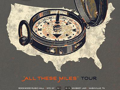 "Jordan DePaul & Paul Luc ""All These Miles"" Tour usa compass tour miles luc paul depaul jordan"
