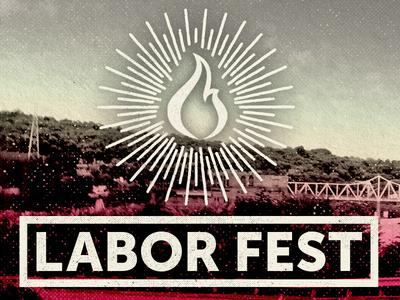 2016 Labor Fest Branding