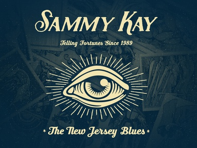 Sammy Kay Fortune Teller Shirt jersey new punk shirt tellers fortune kay sammy