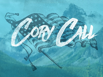 Cory Call Flag acoustic punk folk mountains flag call cory
