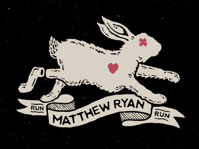 Run Rabbit Run folk punk indie hope unlucky scroll death heart foot rabbit ryan matthew
