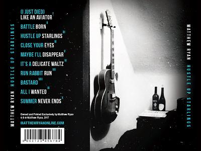 Matthew Ryan Hustle Up Starlings ryan matthew packaging dream starling film noir romance fireworks cover layout grid album