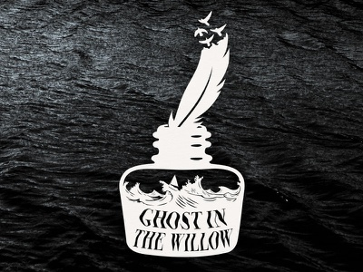 Ghost In The Willow - This Storm Will Pass birds feather ink storm willow ghost