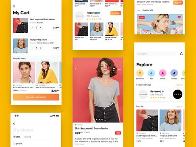 MyLoqta e-commerce app app sell buy e-commerce shopping interface ux ui shop