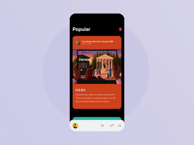 Dribbble concept interactions interface typography interaction concept dribbble ui ux creative app