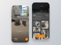 Interior store cinema4d 3d gif shop furniture dribbble ui simple clean app interaction interface store interior