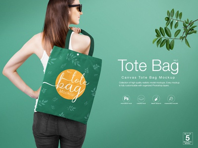 Tote Bag Mockup Vol.1