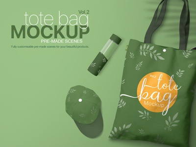 Tote Bag Mockup Vol. 02