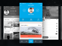 Cosmo Mobile UI Kit 1.0