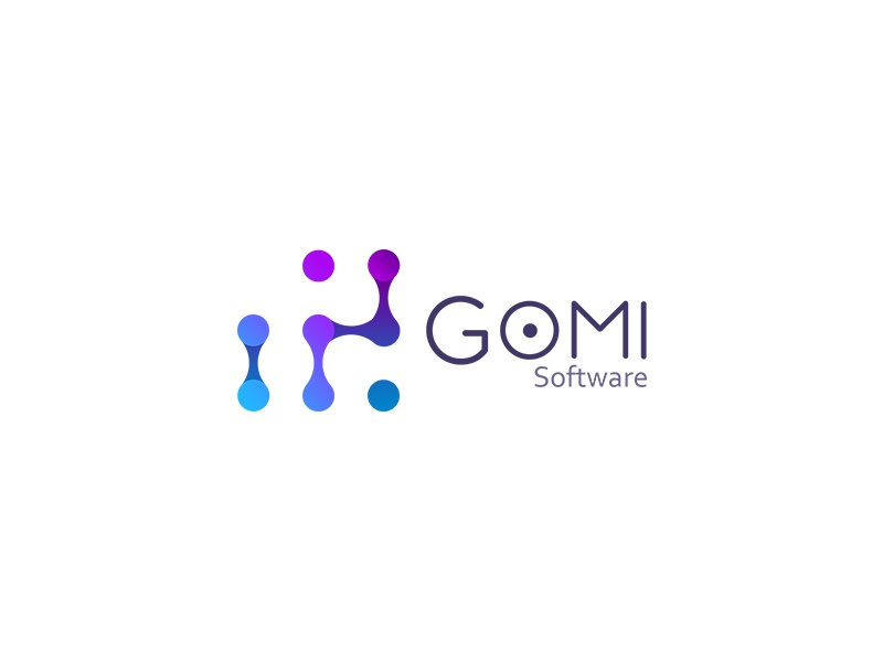 Gomi software logo by arkadiusz p atek dribbble for Logo drawing tool