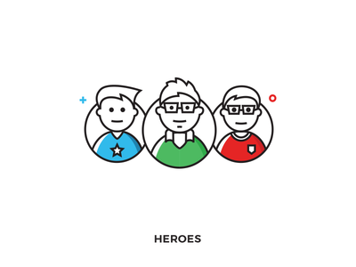Heroes Illustration