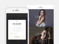 G. Rossi - Responsive Website - Login Form