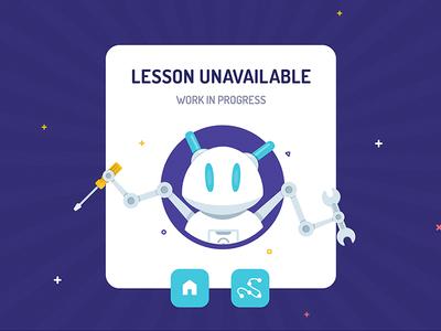 Lesson Unavailable - Modal