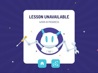 Lesson Unavailable - Modal