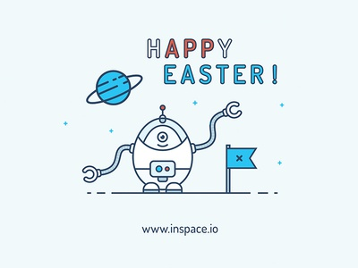 Happy Easter - www.inspace.io