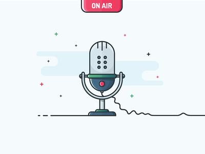 Illustration - Microphone
