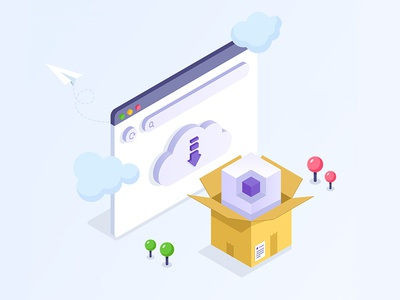 Download Package - Isometric Illustration