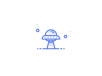 Ufo Icon shapes illustration cosmos space ufa icon