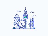 London City Illustration
