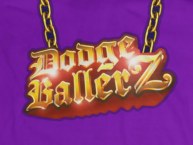 Dodge Ballerz sports logo logo league sports shirts shirt design team logo team dodgeball