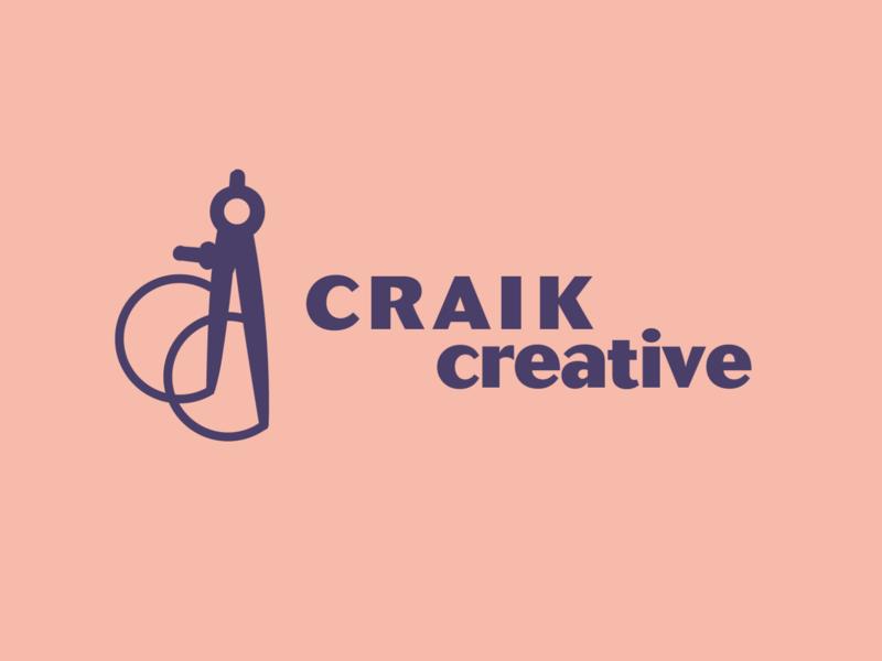 Craik Creative Logo brand interior design identity design identity logo design branding