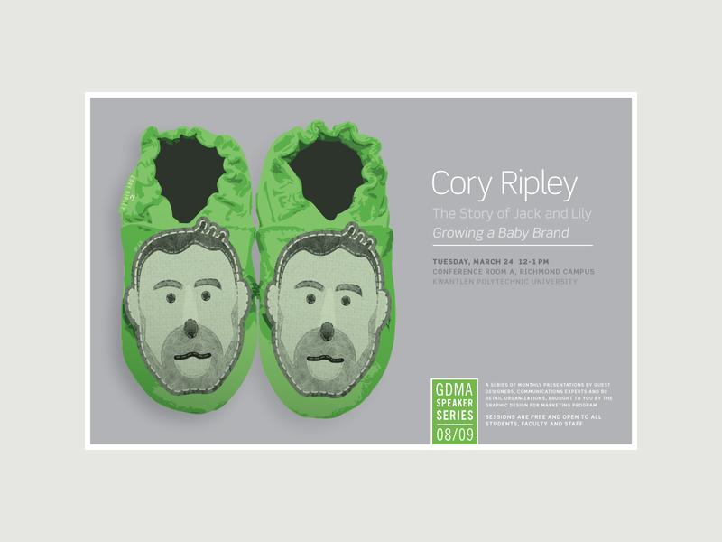 GDMA Speaker Series Posters 2008-2009