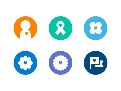 Chimp Feature Icons ui product illustration icon set ui design giving icon system icons charity