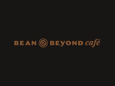 Bean & Beyond Logo coffee shop identity design steveston coffee identity logo branding design