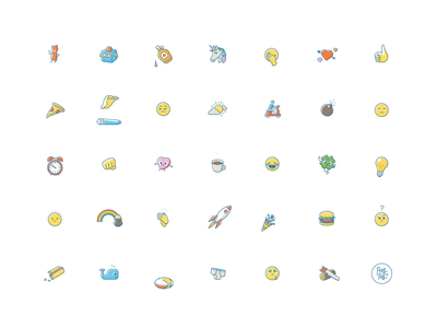 Rag Tag Classics Stickers sticker pack ipad iphone messages ios animation animation design animated stickers imessage stickers imessage illustration design