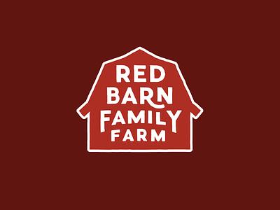 Red Barn Family Farm branding design farm logo farming family identity design identity logo design logo branding design