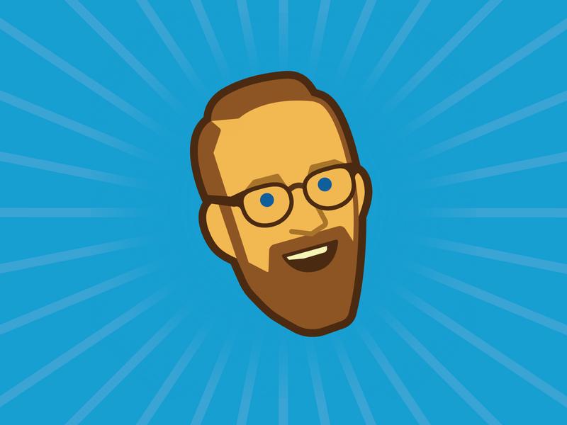 It me caricature profile image avatar branding icon logo illustration