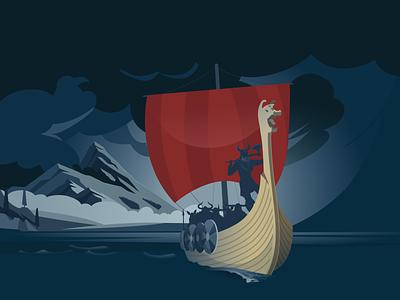 How much Viking do you have? illustration viking vikings