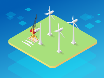 Wind Farm Graphics eco friendly eco green electricity generation from wind large wind turbines small wind turbines renewable energy sources clean energy renewable energy wind power wind energy