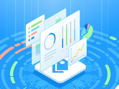Thematic Promo Video online survey software illustration
