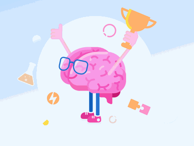 Brainable Brainy Mascot exercise your brain mental workouts