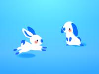 Chinese Rabbits