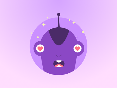 Monsters for Sketch free sketch ui kit template build monsters pink love promo