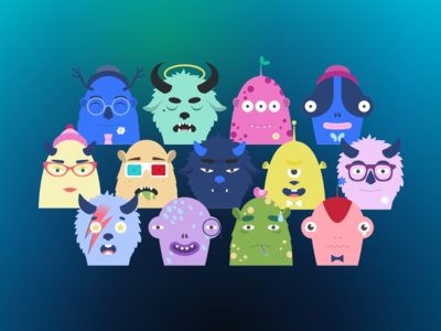 Monsters For Sketch v1.7