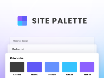 Site Palette for Chrome sketch swatch set color scheme palette plugin extension chrome tool colour