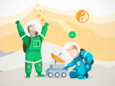 Karma Rewards for Teamwork welcome nice space mars crew points bonus plus rewards karmabot karma