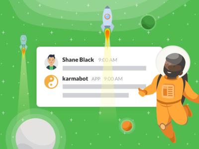 Karmabot Slack Store